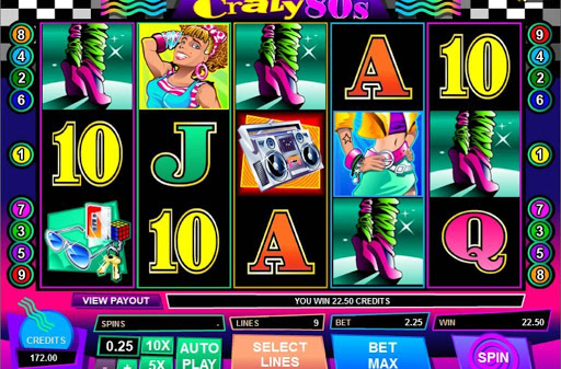 Enjoy The Casino Games in the Wonder Land with Crazy 80's